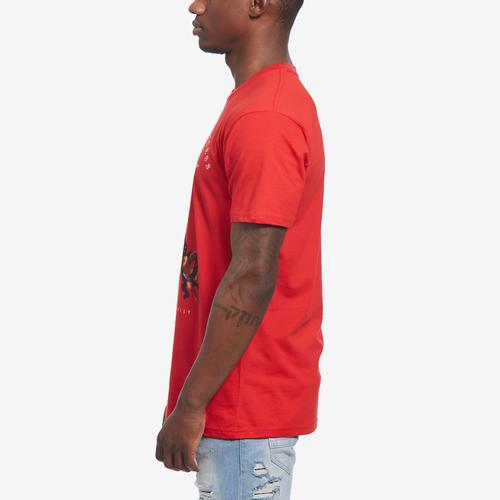 Left Side View of Hasta Muerte Men's Blessed Thieves 11 T-Shirt