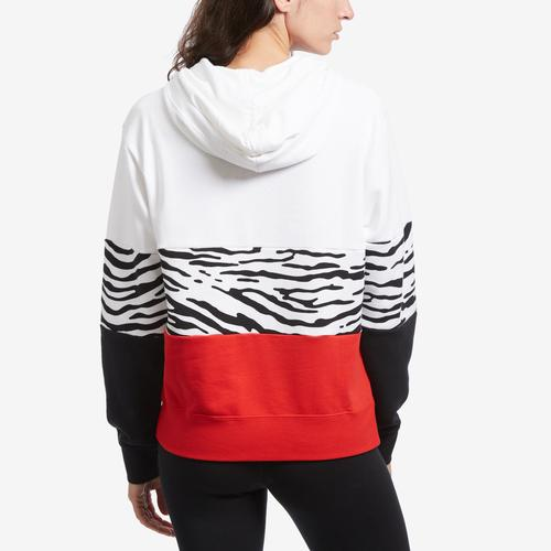 Nike Women's Sportswear Essential Graphic French Terry Pullover Hoodie (Plus Size)