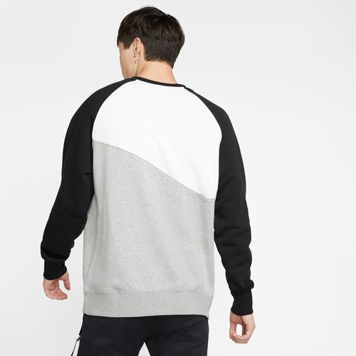 Back View of Nike Men's Sportswear Swoosh Crew