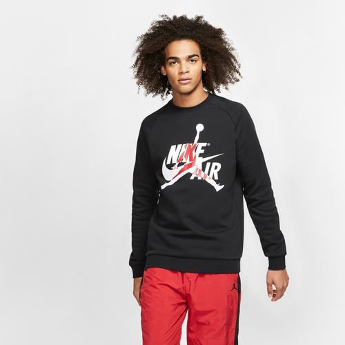 Front View of Jordan Men's Jumpman Classics Crew