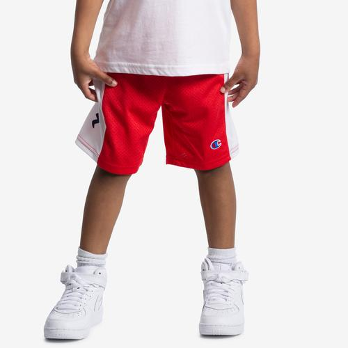 Right Side View of Champion Boy's Script Heritage Shorts