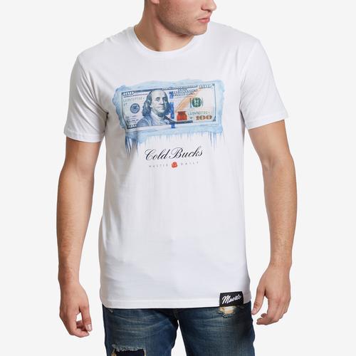 Front View of Hasta Muerte Men's Cold Bucks T-Shirt