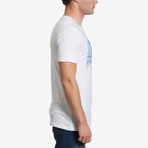Right Side View of Hasta Muerte Men's Cold Bucks T-Shirt