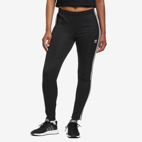 Front View of adidas Women's SST Track Pants