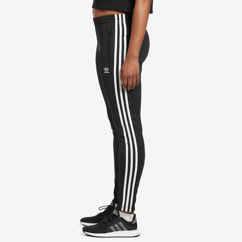 Left Side View of adidas Women's SST Track Pants