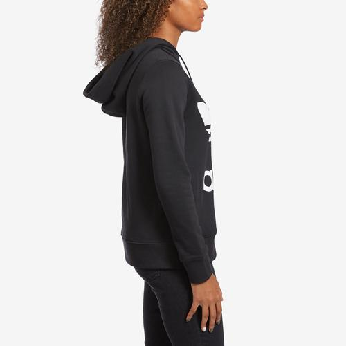 Right Side View of adidas Women's Trefoil Hoodie