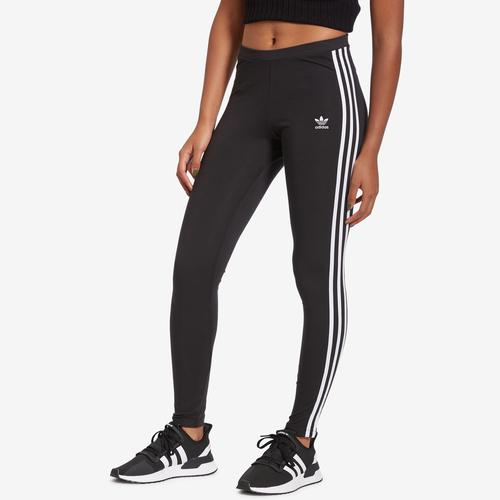 Front View of adidas Women's 3-Stripes Leggings