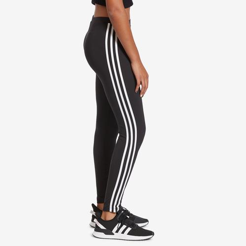 Right Side View of adidas Women's 3-Stripes Leggings