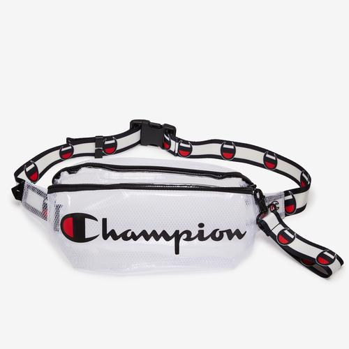 Front Left view of Champion Transparent Slingpack
