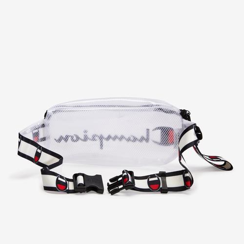 Back view of Champion Transparent Slingpack