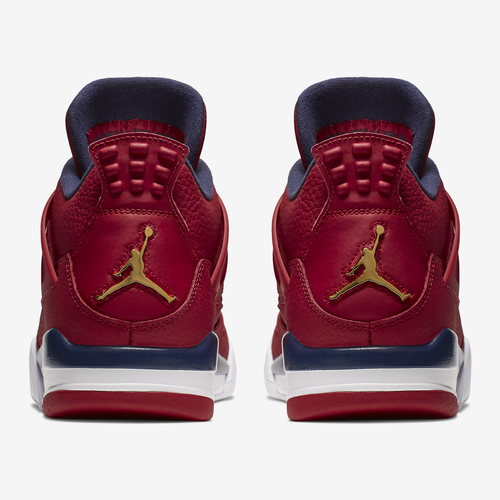 Back View of Jordan Men's Air Jordan 4 Retro SE Sneakers