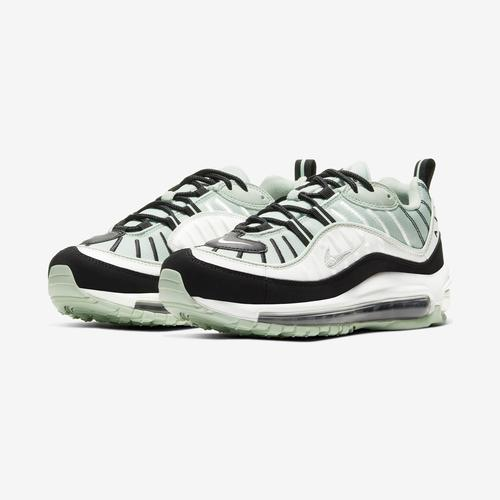 Side Angle View of Nike Women's Air Max 98 Sneakers