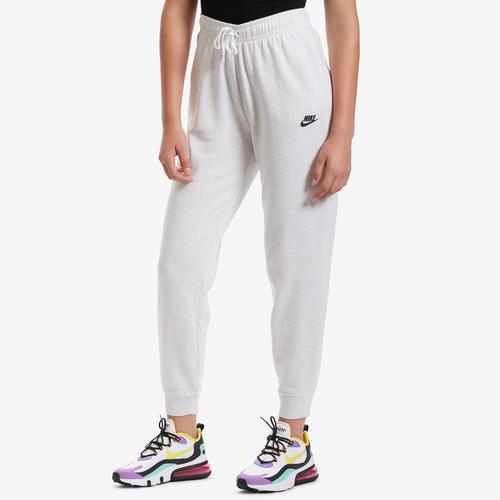Front View of Nike Women's Sportswear Fleece Pants