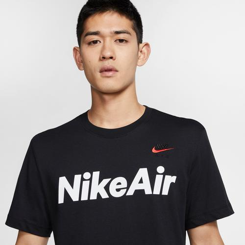Right Side View of Nike Men's Air T-Shirt