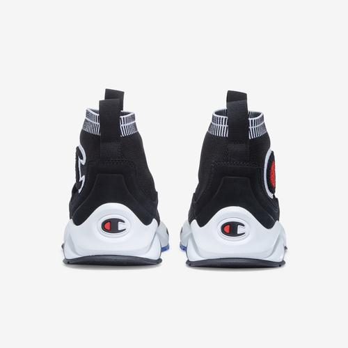 Back View of Champion Men's Rally Pro Sneakers