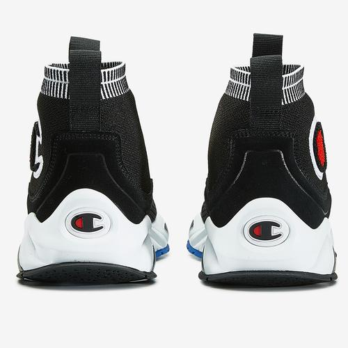 Back View of Champion Boy's Grade School Rally Pro Sneakers