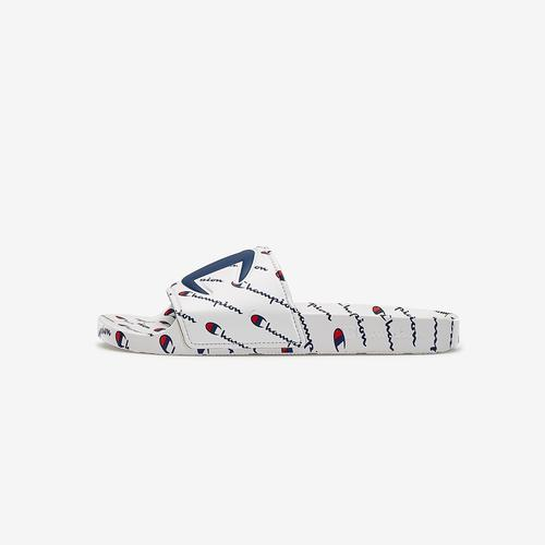 Champion Life Slide Sandals, Repeating Logo