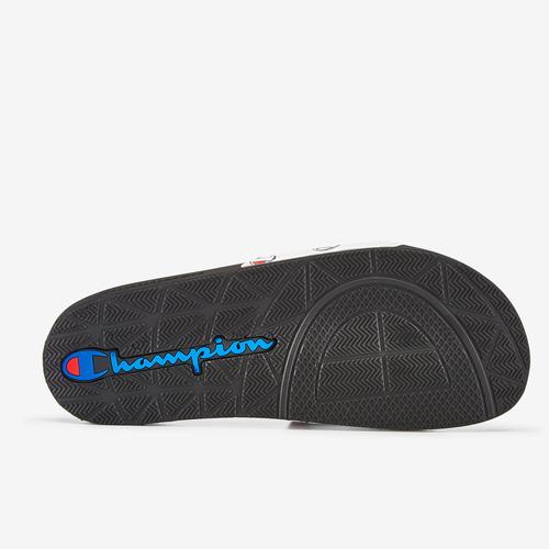 Top View of Champion Men's IPO Repeat Slide Sneakers