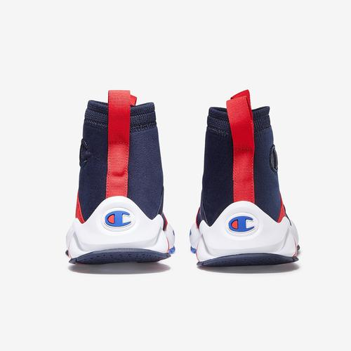 Back View of Champion Men's Rally Crossover Sneakers