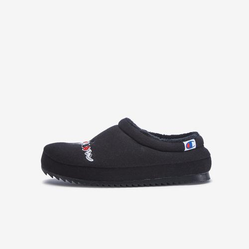 Left Side View of Champion Women's Life Shuffle Slippers Sneakers