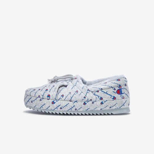 Left Side View of Champion Women's Life University Slippers Sneakers