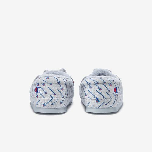 Back View of Champion Women's Life University Slippers Sneakers