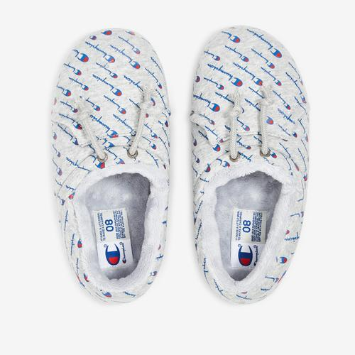 Bottom View of Champion Women's Life University Slippers Sneakers