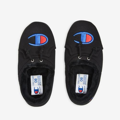 Bottom View of Champion Men's Life University Slippers Sneakers