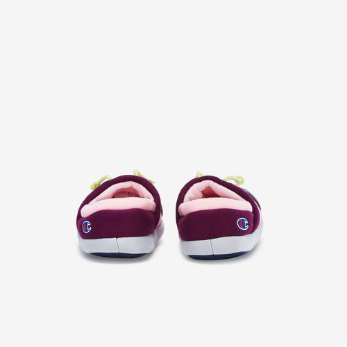 Back View of Champion Girl's Toddler Life University Slippers Sneakers