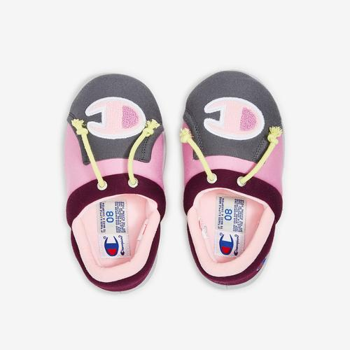 Bottom View of Champion Girl's Toddler Life University Slippers Sneakers
