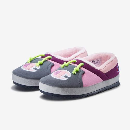 Champion Girl's Grade School Life University Slippers