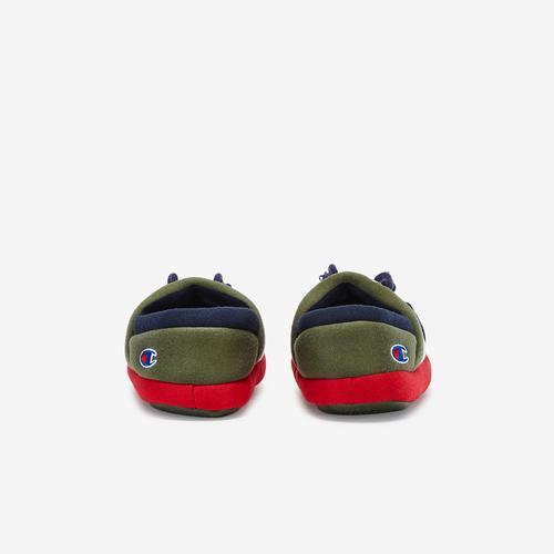 Back View of Champion Boy's Preschool Life University Slippers Sneakers