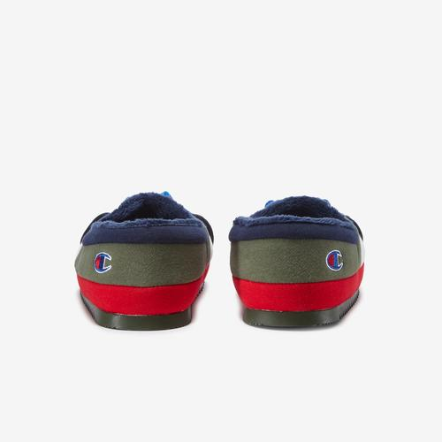 Back View of Champion Boy's Grade School Life University Slippers Sneakers