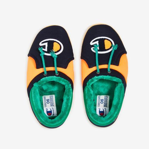 Bottom View of Champion Boy's Grade School Life University Slippers Sneakers