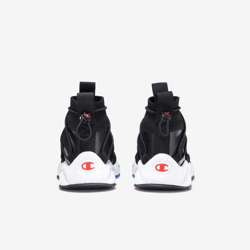 Back View of Champion Kids' Rally Flux Sneakers