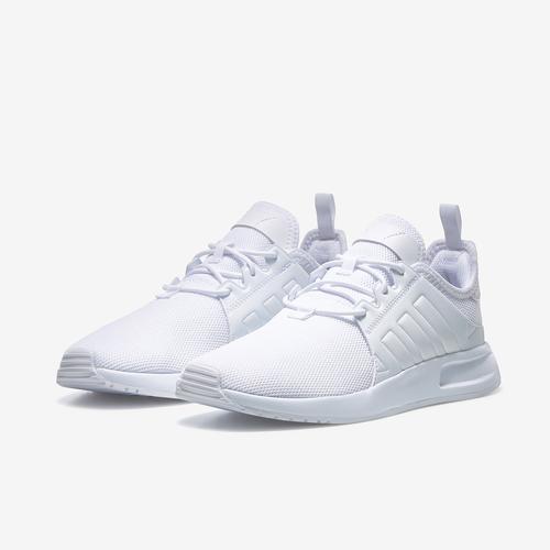Side Angle View of adidas Boy's Grade School X_PLR J Sneakers