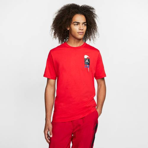 Front View of Jordan Men's Legacy AJ4 T-Shirt