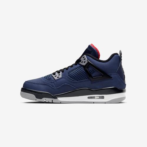 Left Side View of Jordan Boy's Grade School Air Jordan 4 Retro WNTR Sneakers