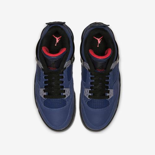 Bottom View of Jordan Boy's Grade School Air Jordan 4 Retro WNTR Sneakers