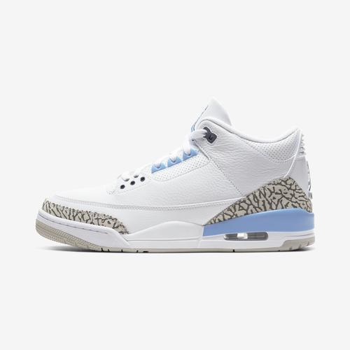 Left Side View of Jordan Men's Air Jordan 3 Retro Sneakers