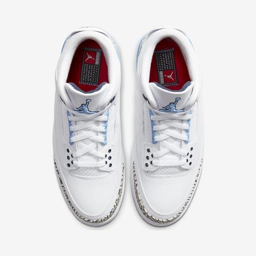 Bottom View of Jordan Men's Air Jordan 3 Retro Sneakers