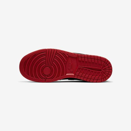Top View of Jordan Boy's Grade School Air Jordan 1 Mid Fearless Sneakers