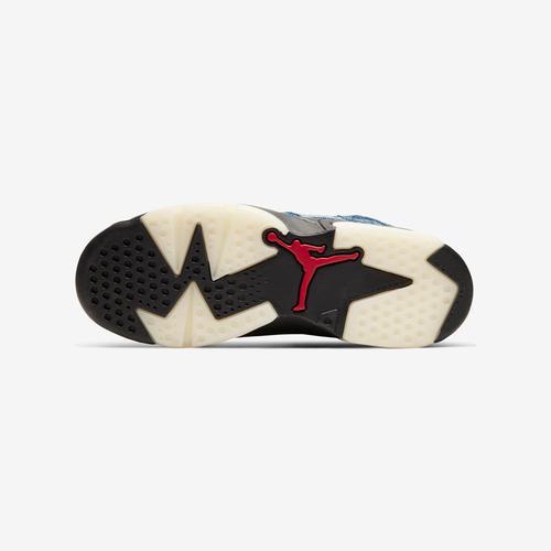 Top View of Jordan Boy's Grade School Air Jordan 6 Retro Sneakers
