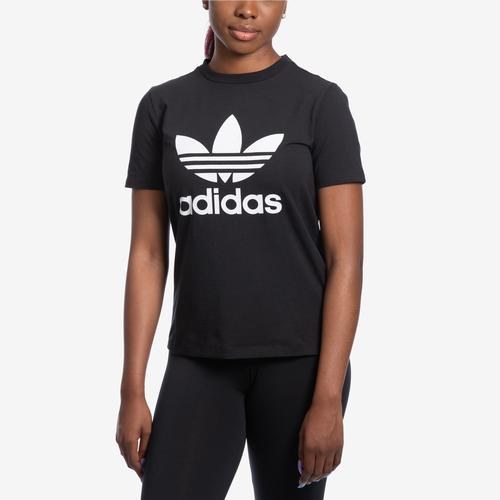Front View of adidas Women's Trefoil