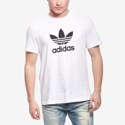 Front View of adidas Men's Trefoil Tee