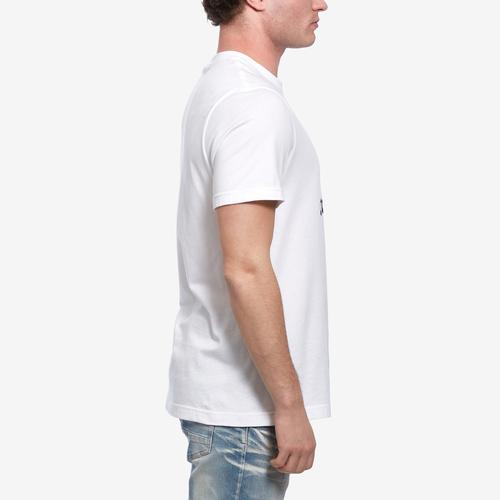 Left Side View of adidas Men's Trefoil Tee