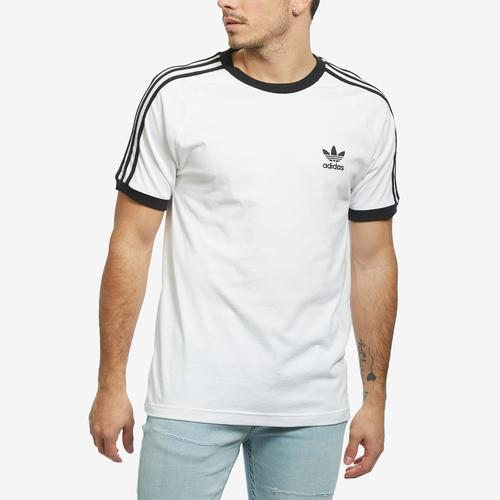 Front View of adidas Men's 3-Stripes Tee
