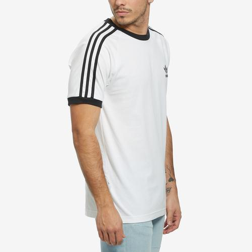 Left Side View of adidas Men's 3-Stripes Tee