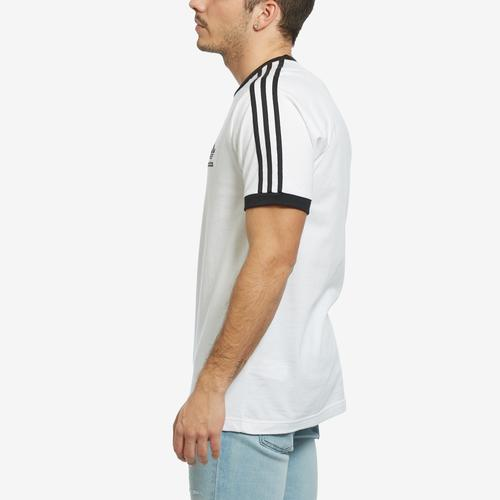 Right Side View of adidas Men's 3-Stripes Tee