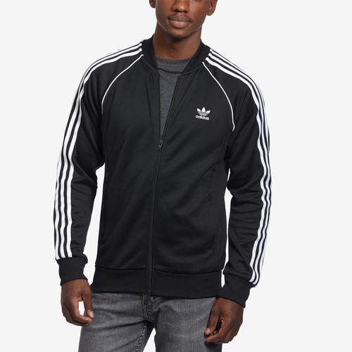 Front View of adidas Men's SST Track Jacket